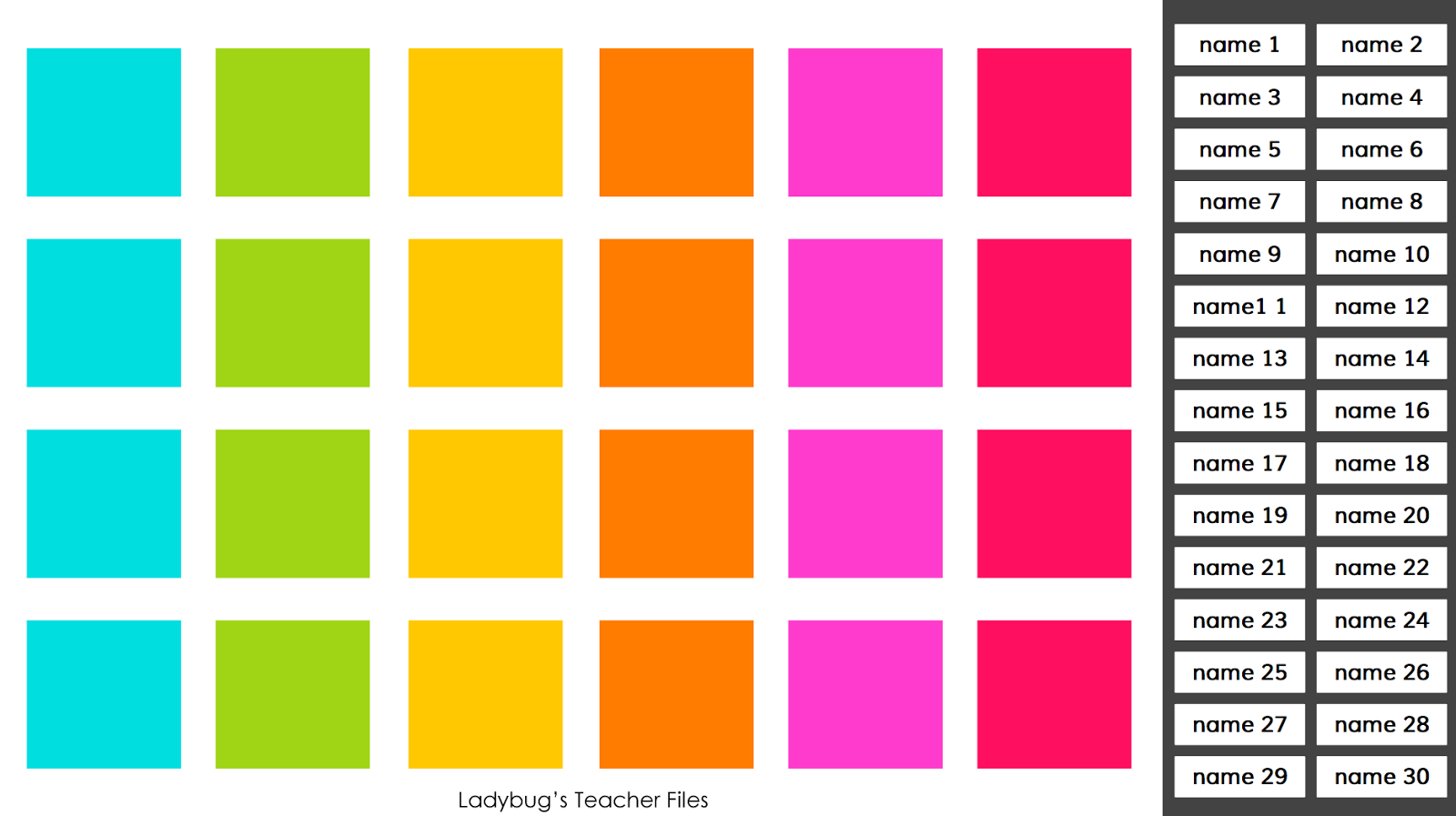Tips on using an interactive classroom seating chart in google drive also  ladybug   teacher files rh ladybugsteacherfiles