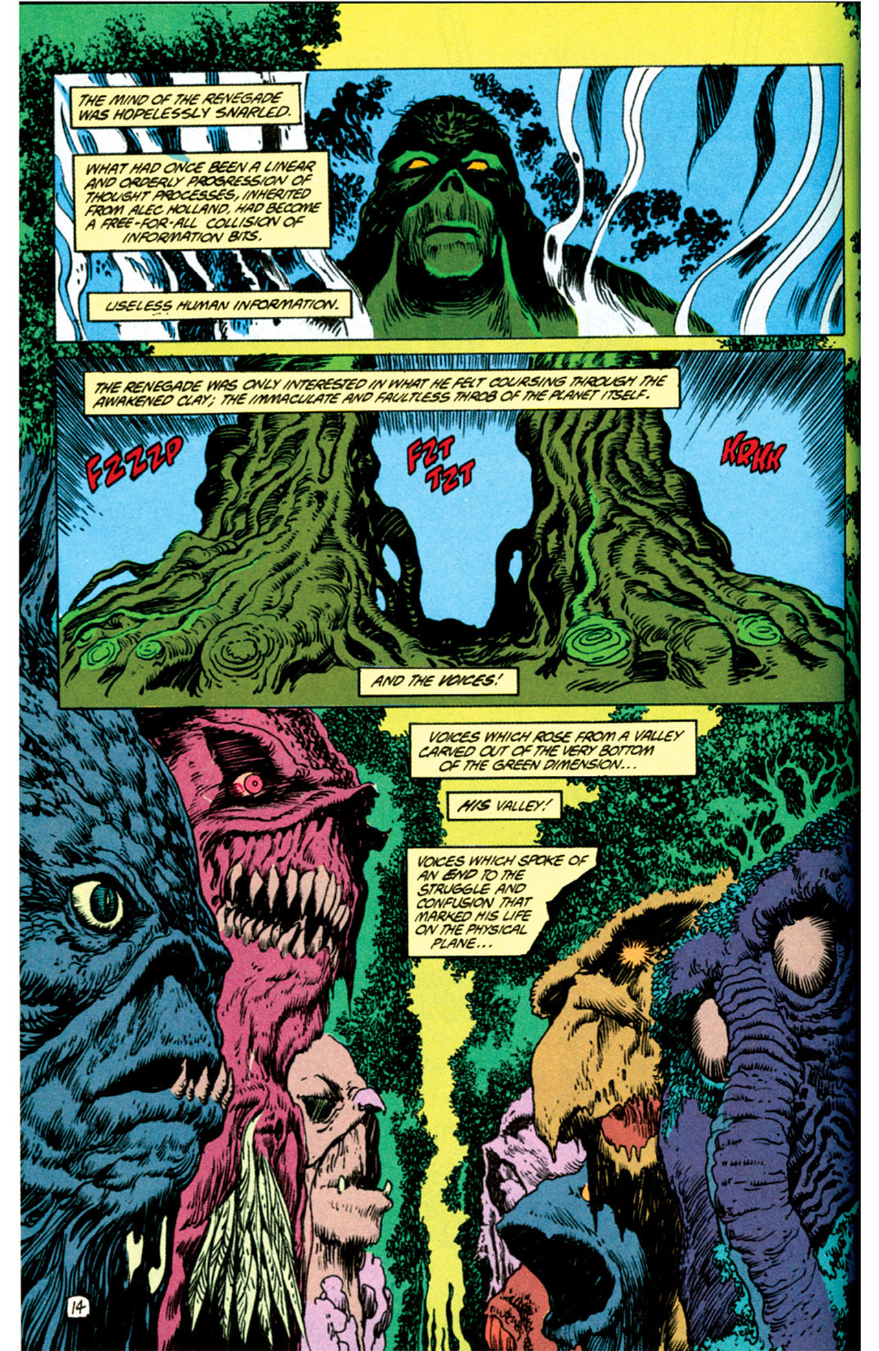 Swamp Thing (1982) Issue #69 #77 - English 11