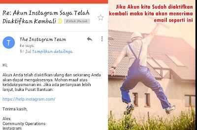 Cara Mengembalikan/Mengatasi Akun Instagram Yang Dibanned/Nonaktifkan (Disable Instagram Account) Terbaru