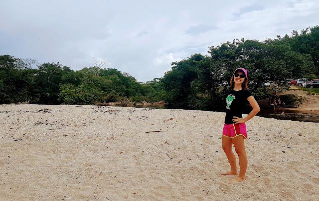 Praia de rio do Rio das Almas.