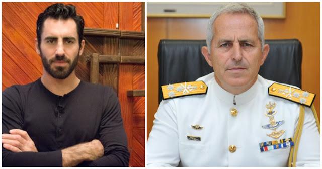 Ο «Μaster Chef» Γιάννης Αποστολάκης είναι ο γιος του ναυάρχου Αποστολάκη που ανέλαβε το ΥΠΕΘΑ