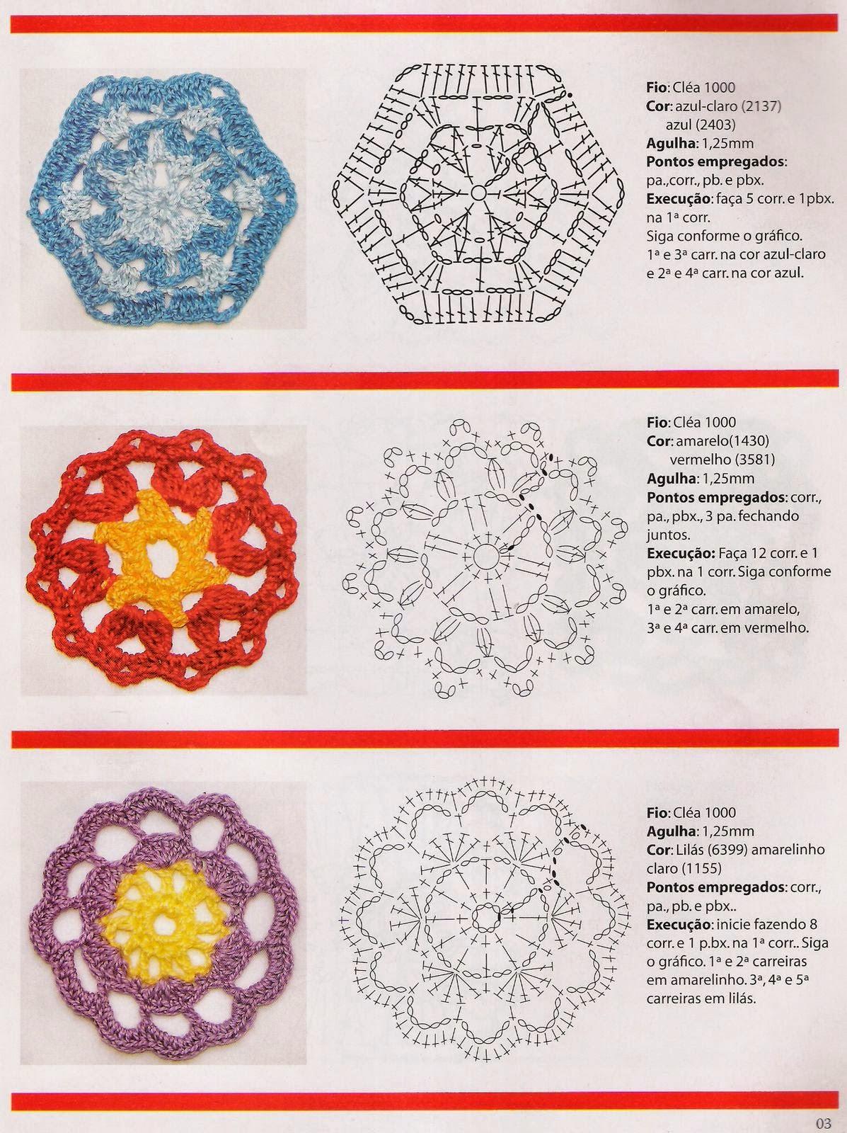Delicadezas En Crochet Gabriela Flores A Granel Con Patrones ...