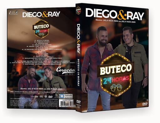 CAPA DVD – Diego & Rau Buteco 24 Horas Coraçãção De Isca DVD-R