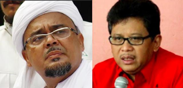 Hasto Ngaku Bertemu Habib Rizieq, Sebut Banyak Anak PKI di FPI
