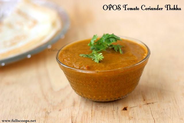 OPOS Tomato Coriander Thokku