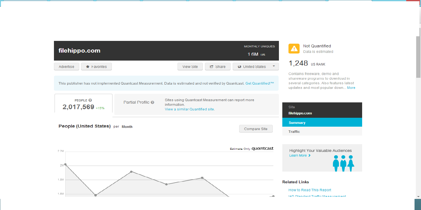 Quantcast search result for filehippo