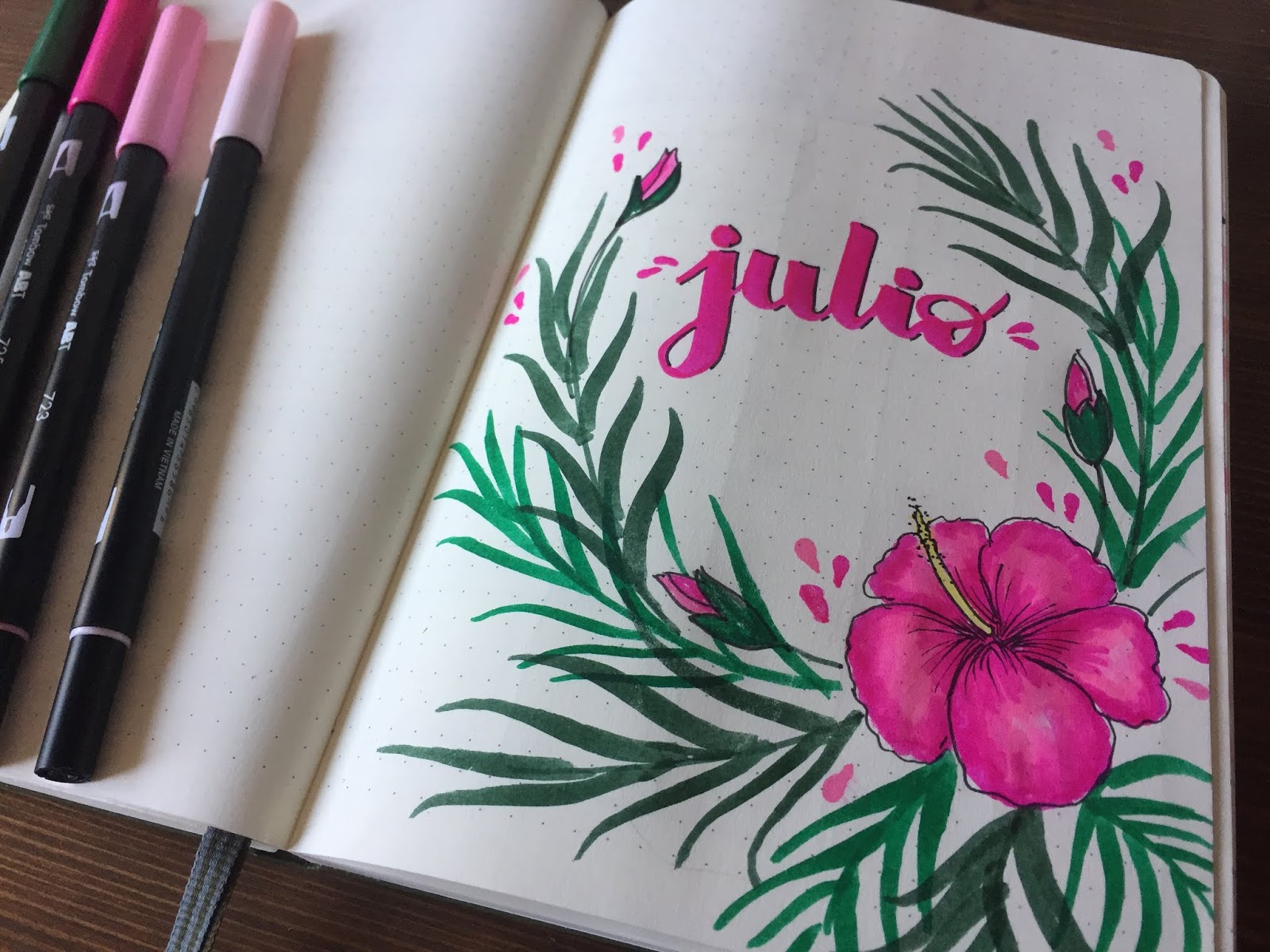BULLET JOURNAL EDICION JULIO