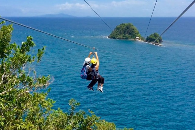 Malajog Ridge Nature Park Zipline