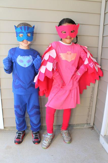 costumi dei Super Pigiamini