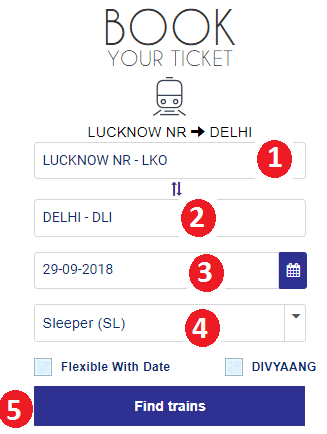 sign in irctc account