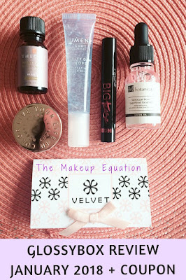 GlossyBox Subscription Box Review January 2018 Plus Coupon