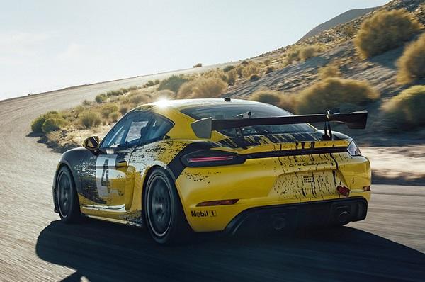 Porsche Cayman GT4 Clubsport 2019