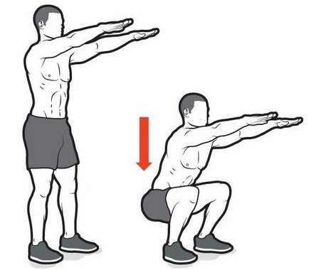 Gerakan Body-Weight Squat