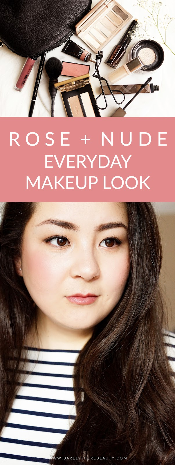 everyday-spring-makeup-look-rose-pink-pinterest