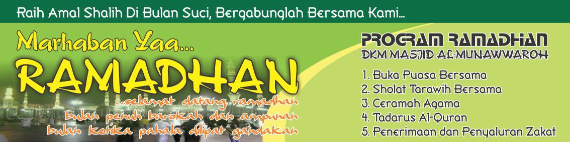 Contoh Banner Isro Mi Roj Natal Ok