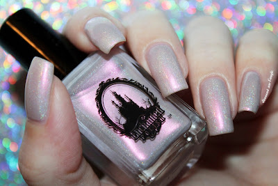 "Swatch of the nail polish ""J'adore"" from Enchanted Polish"