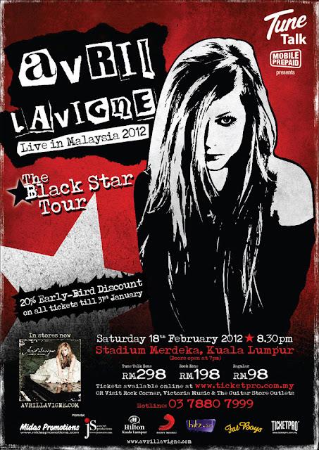 Malaysia Avril Lavigne Live