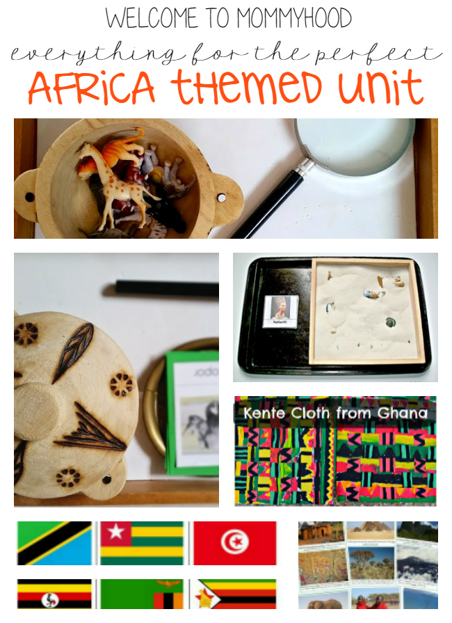 Montessori activities: Africa themed activities and printables by Welcome to Mommyhood #montessori, #montessoriactivities, #preschoolactivities, #3to6 #africaunit #printables, #perschoolactivities