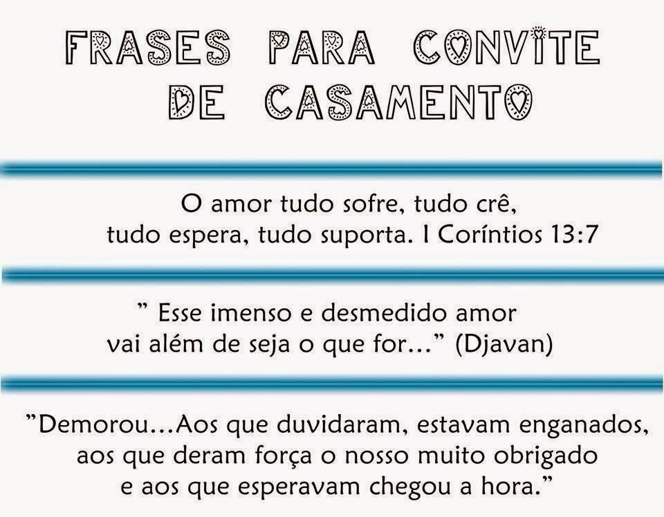 Tag Frases De Convite De Casamento Da Bíblia