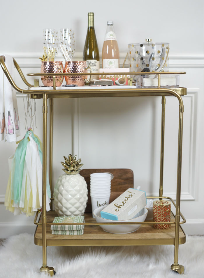 bar cart 101,, functional uses for a bar cart, traditional bar cart, bar cart style, bar cart inspiration, affordable bar carts