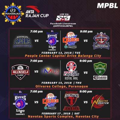 MPBL: Muntinlupa Cagers vs. Bulacan Kuyas (February 13 ...