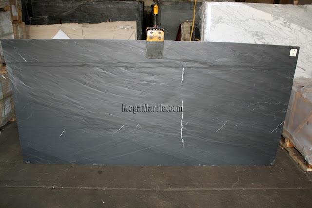 Italian Black Slate Leather slabs