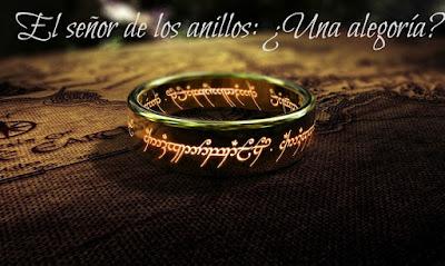 senor de los anillos alegoria