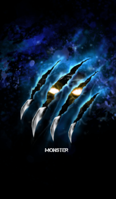 Monster x Monster Ver.2 Blue