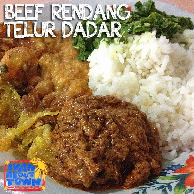 Beef Rendang in Medan, Indonesia