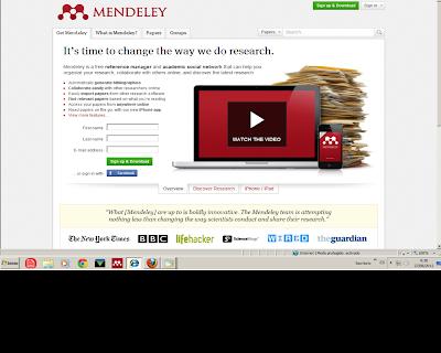 Mendeley Gestor De Referencias Bibliográficas Y Red Social