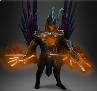 Terrorblade - Fractal Horns of Inner Abysm Orange