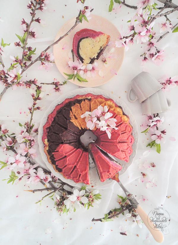 neapolitan-bundt-cake-bizcocho-napolitano-chocolate-fresa-vainilla