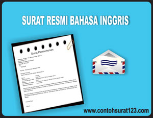 Gambar Contoh Surat Resmi dalam Bahasa Inggris