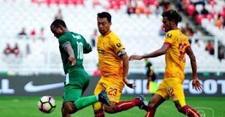 PSMS vs Sriwijaya FC 0-4 Highlights - Juara III Piala Presiden 2018