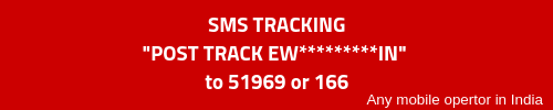 India Post SMS Tracking Format