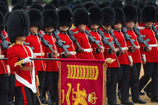 Trooping the Colour Inggris