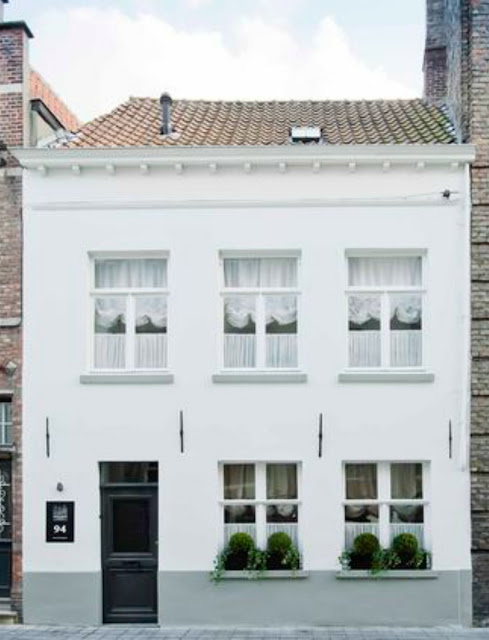 Bruges White Rooms Guesthouses exterior by Natalie Haegeman - found on Hello Lovely Studio