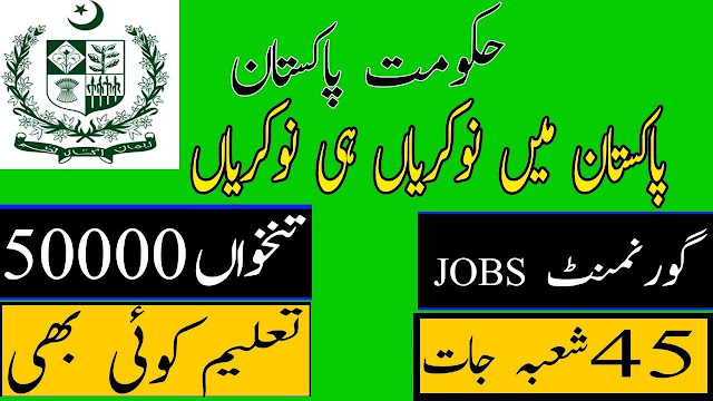 Latest 1000+ Government Jobs 2019 for all Pakistan