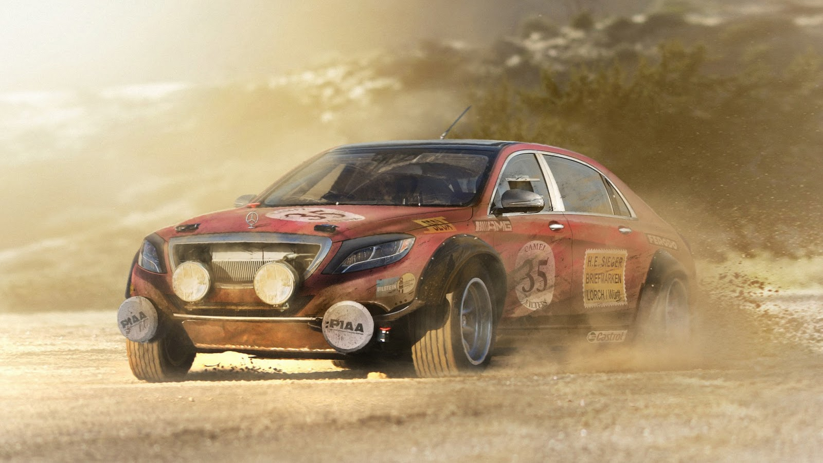 Monster Rally Car Wallpaper What If Group B Rallying Returned Like This