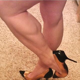 Women athletic large calves