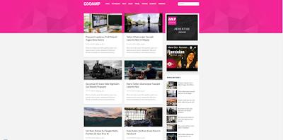 Template Blogger Goo AMP Responsive & SEO Ready