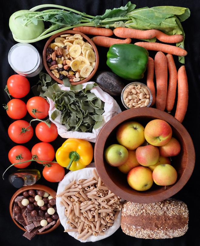 Zero Waste, unverpackt einkaufen, Lebensmittel im öffentlichen Raum, Wochenmarkt, Ökomarkt, Foodsharing, Mundraub, die essbare Stadt, Unverpackt-Laden, The Good Food, Lebensmittel retten