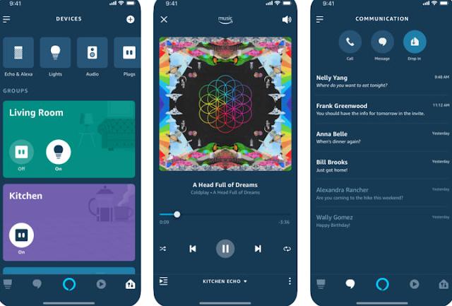 أمازون تطرح تحديث لتطبيق Alexa يجلب تصميم جديد