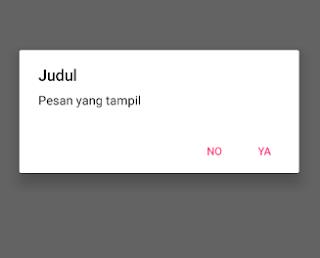 Membuat AlertDialog Android Kotlin