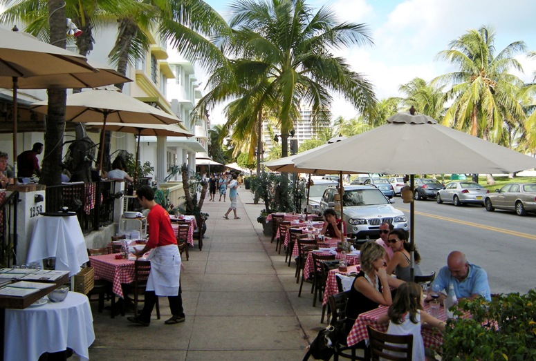Ocean Drive Miami Restaurants