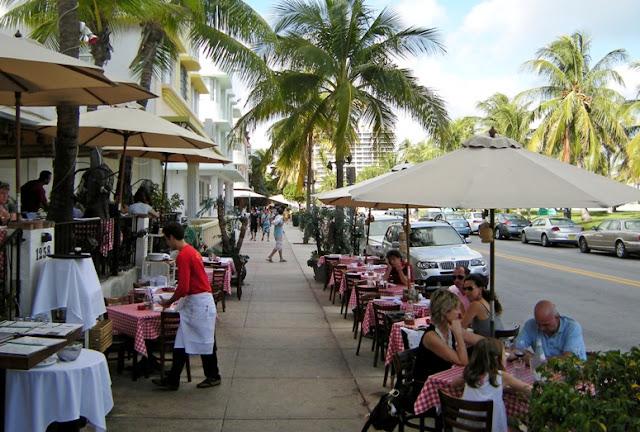 Ocean Drive Miami Restaurants