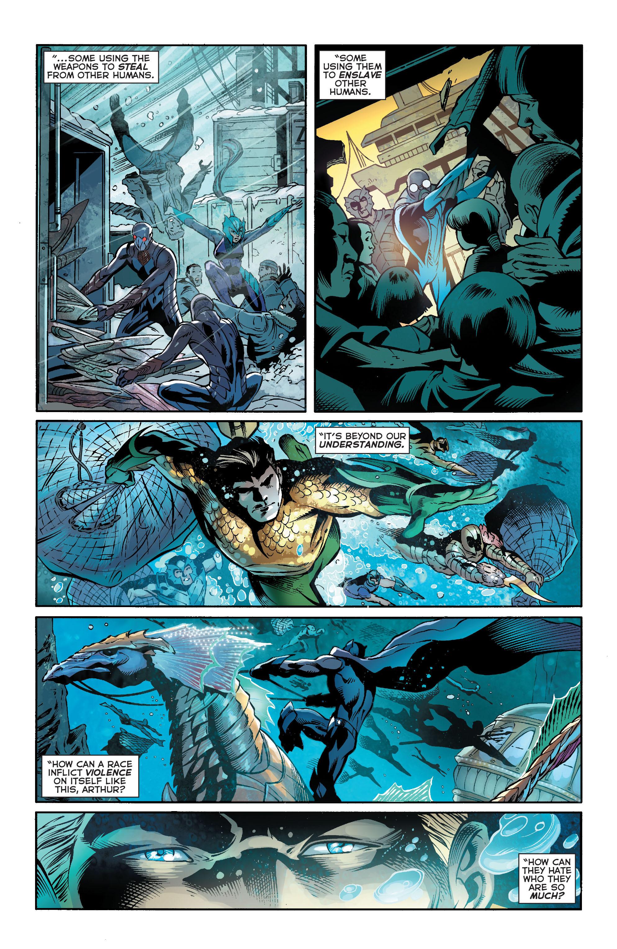 Read online Aquaman (2011) comic -  Issue #18 - 6