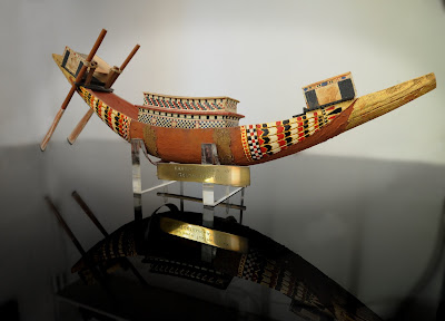 Egyptian funeral boat