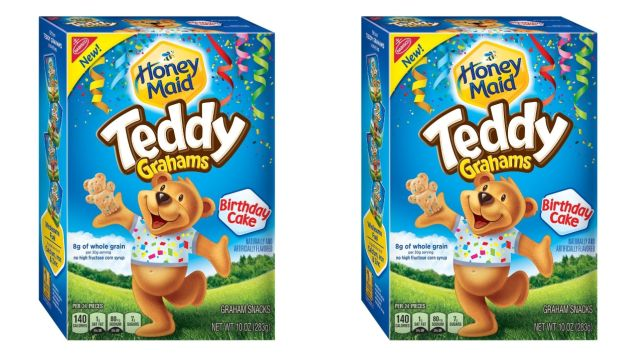 Teddy Grahams Now In New Birthday Cake Flavor