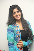 Megha Akash in a beautiful Anarkali dress with Long Jacket at LIE success meet ~  Exclusive Celebrities Galleries 005.JPG
